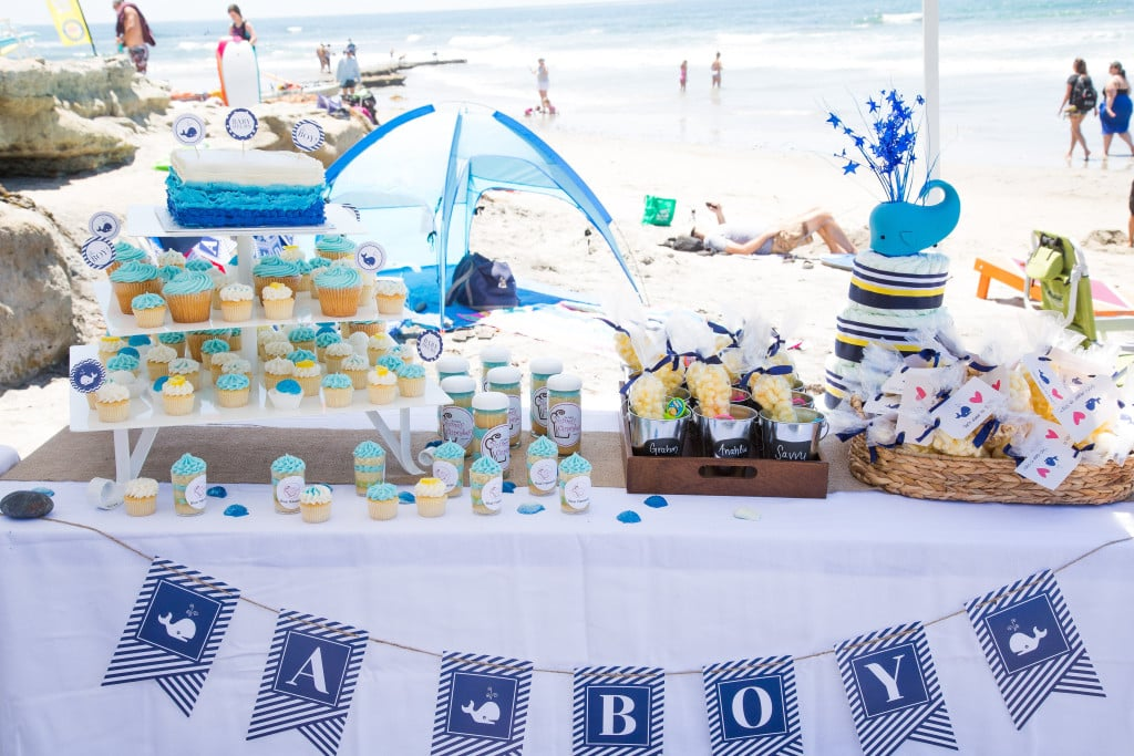 beach baby shower