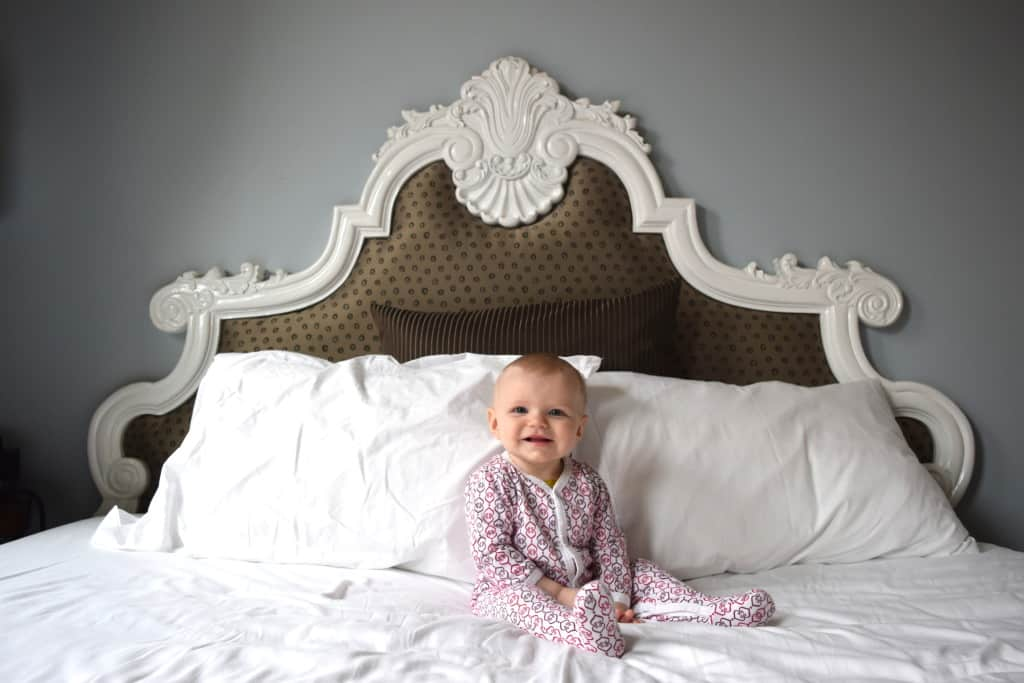 Enjoy a hotel stay with a baby